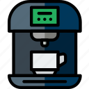 cooking, esspresso, food, kitchen, machine icon