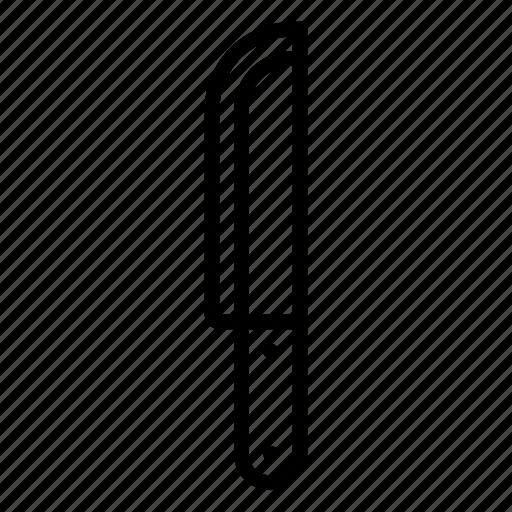knife, steak icon