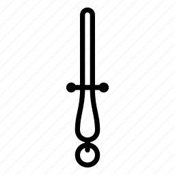 sharpening, steel icon