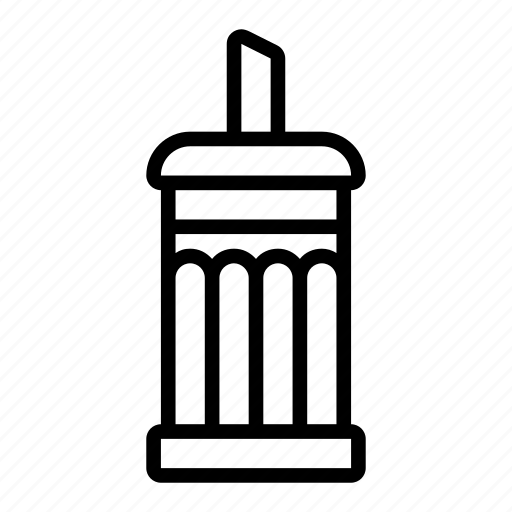 dispenser, sugar icon