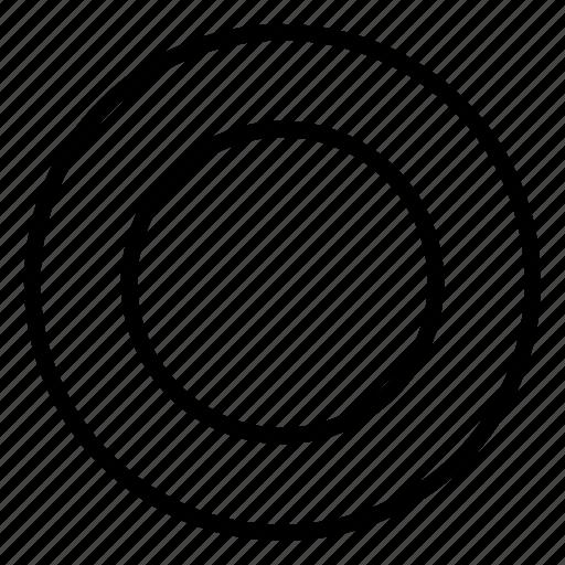 above, dish icon