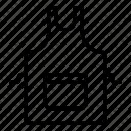 apron, pocket icon