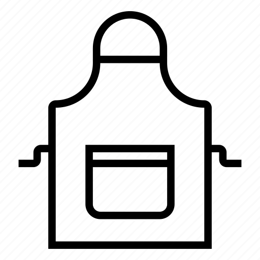 apron, pocket icon
