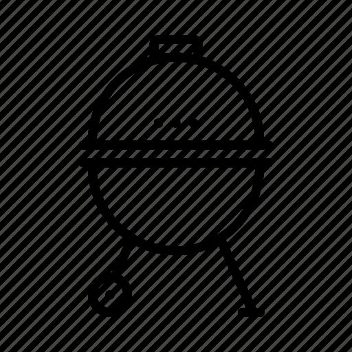 grill, portable icon