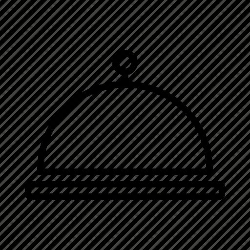 chafer, dish icon