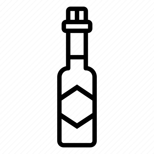 bottle, hot, sauce, spicy icon
