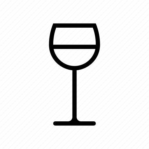 glass, wine icon