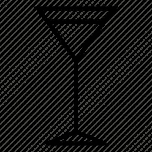 glass, martini icon