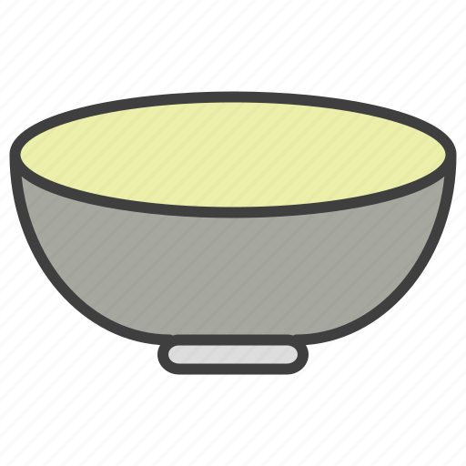 Bowl, dish, food, meal icon - Download on Iconfinder