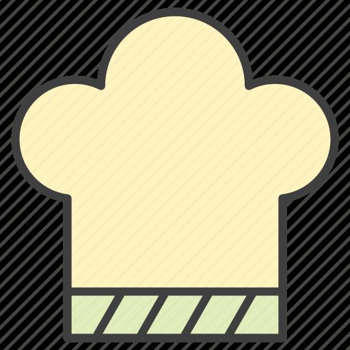 chef, cook, hat, kitchen icon