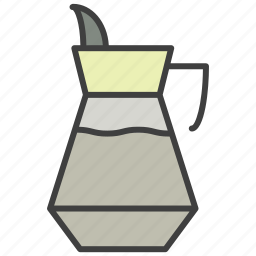 jug, juice, kettle, water icon