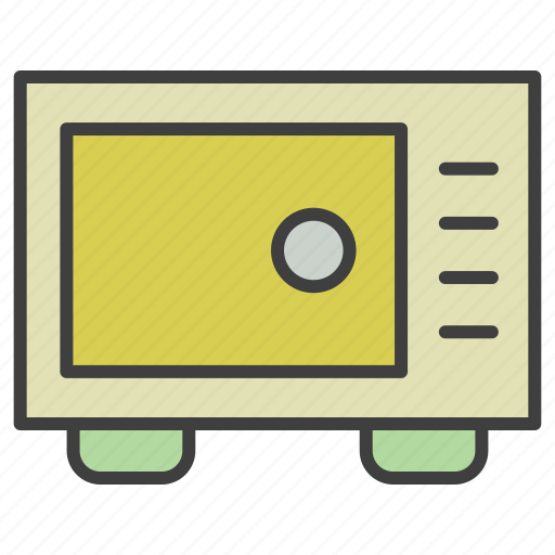 cook, microwave, oven icon
