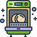 appliance, cleaning, dishwasher, kitchen, utensil, wash, washing icon