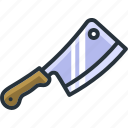 axe, chopper, cooking, cutlery, kitchen, knife, utensil icon