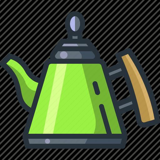 Beverage, coffee, drink, hot, kettle, kitchen, tea icon - Download on Iconfinder