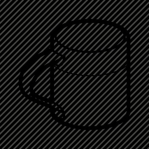 Metallic mug icon - Download on Iconfinder on Iconfinder