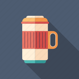 bottle, coffee, container, drink, flask, mug, thermos icon