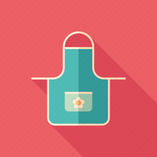 accessory, apron, cloth, cooking, kitchen, protection, uniform icon