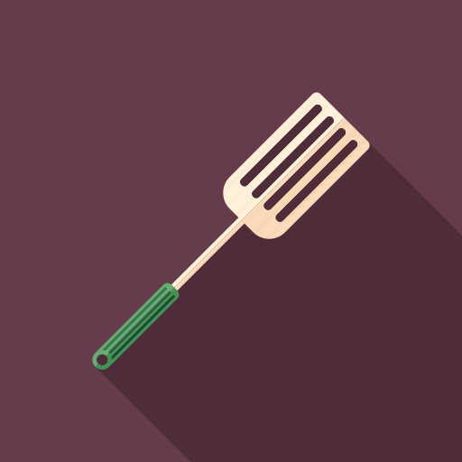 barbecue, cooking, grilling, kitchen, spatula, tool, utensil icon