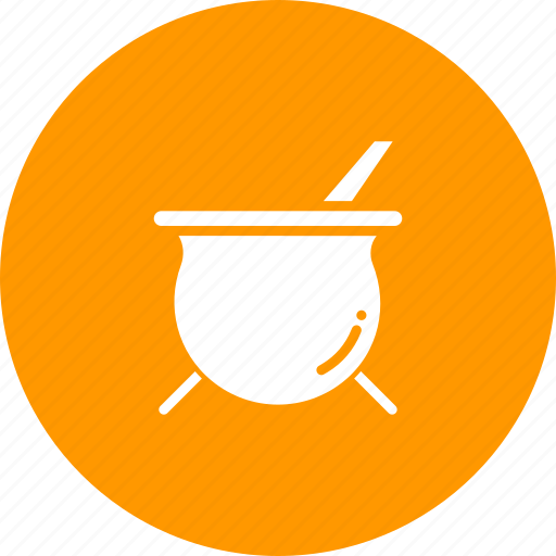 cauldron, cook, kitchen, pot, soup, stew icon