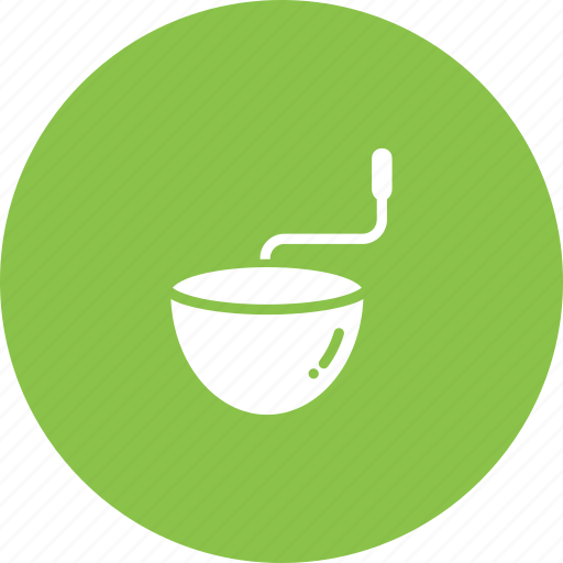 bowl, coffee, grind, kitchen, mix, mortar icon