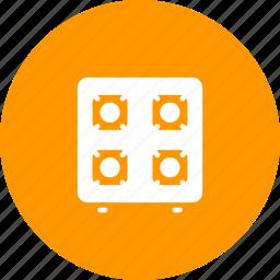 appliance, cook, gas, kitchen, stove icon