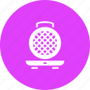 appliance, iron, kitchen, waffle icon