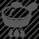 broil, burner, fry, frypan, hob, pan, roast