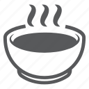 cup, dish, food, plate, portion, soup, tea icon