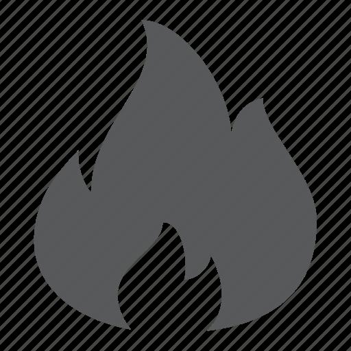 bonfire, burn, campfire, fire, flame, hot, warm icon