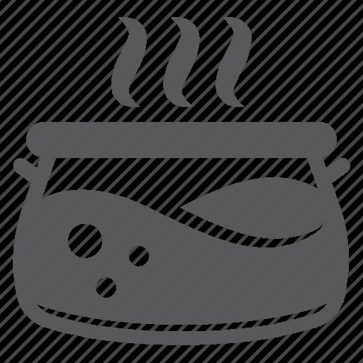 cooking, crockery, pan, pot, stew, tew-pan, utensil icon