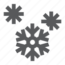 defrost, flake, freezing, fridge, frost, refrigerator, snowflake icon
