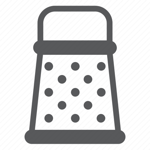 appliance, cooking, device, grater, kitchen, metal, preparation icon