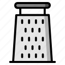 cook, cooking, food, grater, kitchen, kitchenware, meal icon