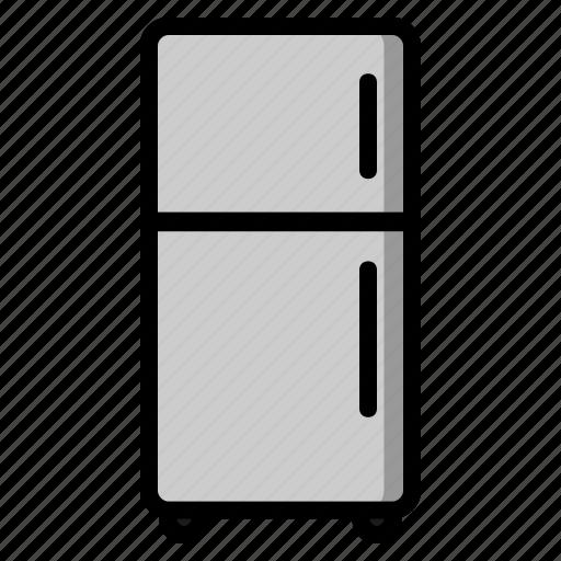 freezer, fridge, kitchen, kitchenware, meal, refrigerator, restaurant icon