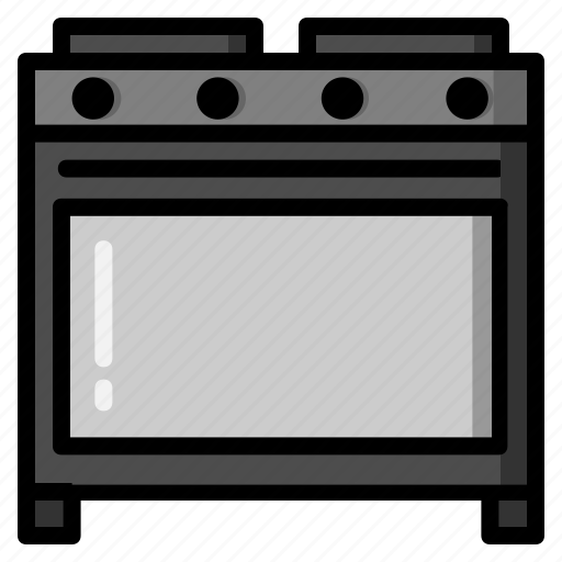 cooking, kitchen, kitchenware, meal, microwave, oven, stove icon