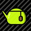 tablewere, coffee, drink, kitchen, mug, tea, teapot