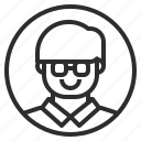 profile, student icon