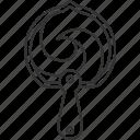 fan, korean, traditional, oriental, accessory