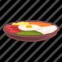 egg, korean, food, rice