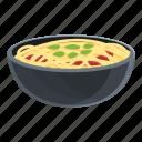 korean, noodles, food, bowl