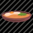 bibimbap, food, egg, cooking