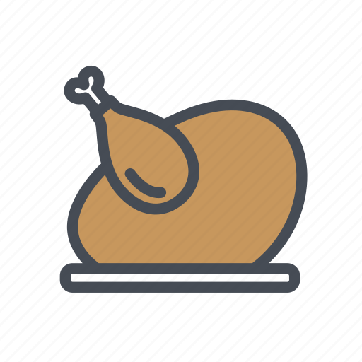chicken, food, meat, restaurant, roasted icon
