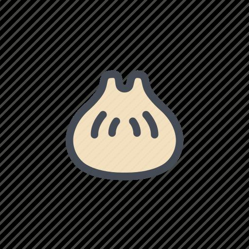 chinese, dumpling, korean, steamed dumpling icon