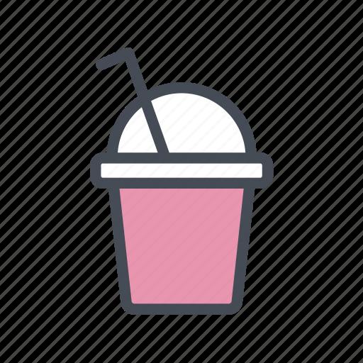 fruit juice, ice blended, milkshake, shake, smoothie icon