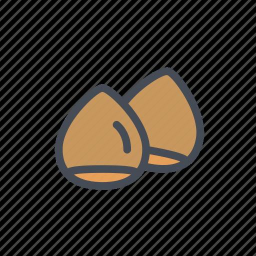 chestnut, roasted, street food icon