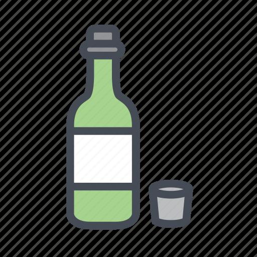 alcohol, drink, happy hour, korean alcohol, soju icon