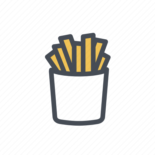 fries, potato, street food, sweet potato icon