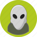 alien, user icon