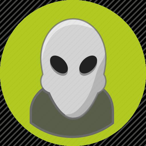 alien, user icon